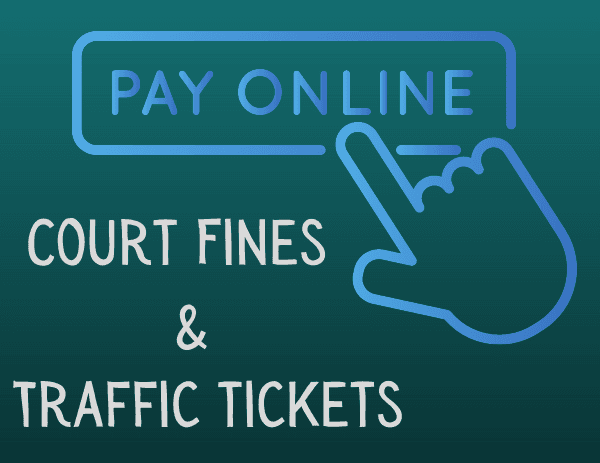 Pay Fines Online Button